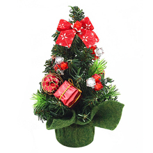 Mini Small Tiny Artificial Christmas Tree Holiday Indoor Home Decoration