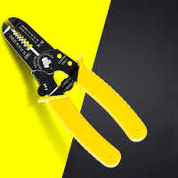 Portable Wire Stripper Decrustation Pliers Crimper Cable Stripping Crimping Cutter Hand Tool with Manganese Steel for Electrical