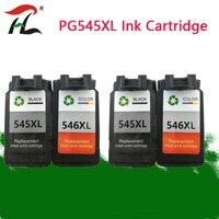 YLC PG545 CL546 XL cartuchos de tinta para Canon pg 545 CL-546 PG-545 para Canon IP2850 MX495 MG2950 MG2550 MG2450 impressora