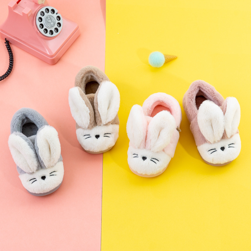 Winter Newborn Baby Princess Boots New Arrival   Cute Little White Rabbit Cotton Shoes Winter Babies Shoes For Baby Girl Boy