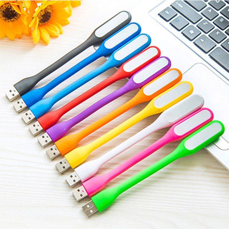 USB LED Book Light Reading  LED USB Reading Lamp DC 5V Night Light Eye Protection Desk Lamp Power Bank Computer Notebook Laptop