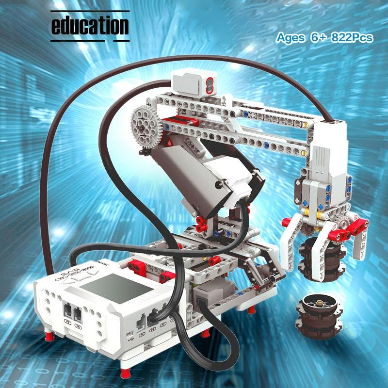 Programming Series The EV3 Robots Model Building Blocks Education Set STEAM Compatible Logoes 45544 Classic Core Robotics Toys
