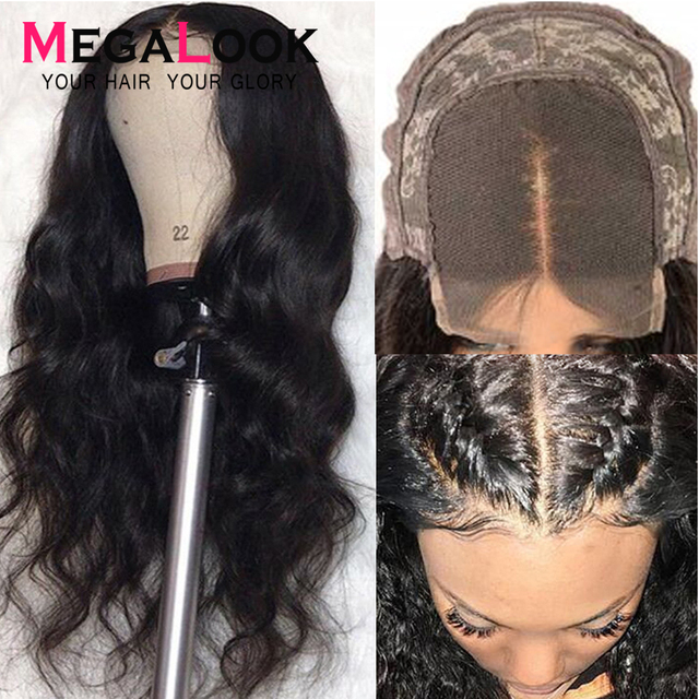 4x4 6x6 Closure Wigs Lace Closure Wig Remy Natural 30inch Megalook Hair Brazilian Human Hair Wigs Lace Closure Wig Body Wave Wig 3