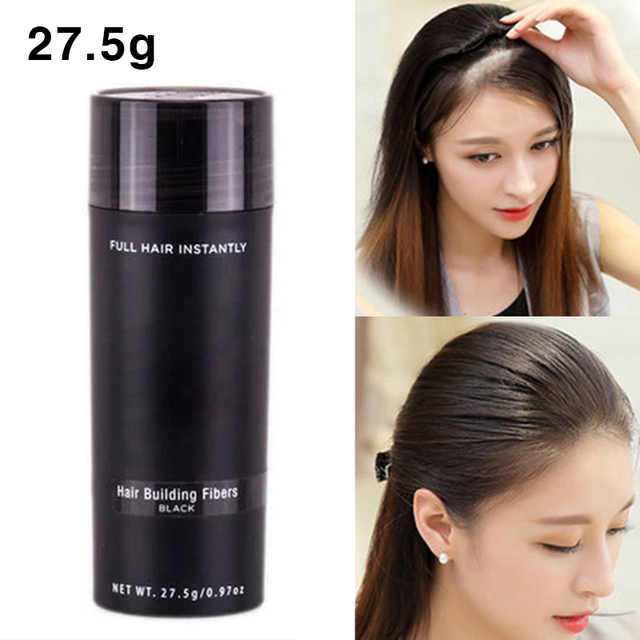 Thick Hair Care Spray Set Protein Fiber Plant Wig Powder, Used to Hide the Scalp, Optimize the Hairline, Younger 27.5g/Bottle 1