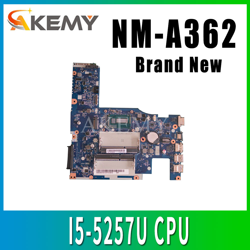 Akemy New Mianboard For <font><b>Lenovo</b></font> G50-80 G50-<font><b>70</b></font> G50-70M <font><b>Z50</b></font>-<font><b>70</b></font> NM-A362 Laotop <font><b>Motherboard</b></font> NM-A272 w/ I5-5257U CPU image