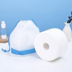 Usa e getta Viso Telo di Tessuto Non Tessuto Tessuto Facciale di Trucco Salviette di Cotone Pad Pulizia Del Viso di Trucco di Rimozione di Rotolo di Carta Tissue