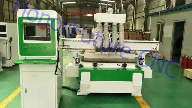 China Factory Cnc Router 3 Axis Cnc Milling Machine For Wood Metal Plastic Engraving Cutting 1325 Furniture Making Cnc Machine