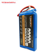 Rechargeable RC LiPo Battery 4S 14.8V 22000mAh 25C For RC Airplane Quadrotor Helicopter Drone Tank Car Batteries LiPo 4S 22Ah(China)
