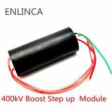 1 pces dc 3v-6v bis 400kv 400000v 1000kv 1000000v impulso intensificar o gerador de alta tensão do módulo de energia