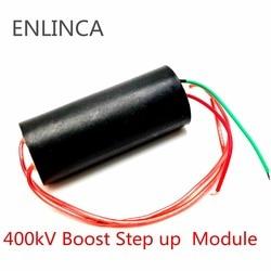 Повышающий силовой модуль постоянного тока 3В-6В до 400кв 400000 в 1000кв 1000000 в, генератор высокого напряжения, 1 шт.