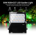 Mi светильник FUTC06 50 Вт RGB + CCT светодиодный садовый светильник AC100 ~ 240V 50/60Hz IP65 поддержка третьей вечерние голос 2 4 GHz дистанционное управление п...