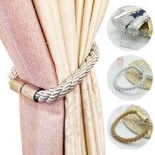 Home Curtain Tie-backs Magnetic Curtain Tieback Buckle Holder Window Strap