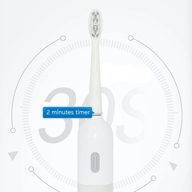WIFI Transmission APP Smart Toothbrush Ultrasonic Sonic Electric Toothbrush USB Charge Rechargeable Tooth