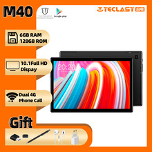 Tablet M40 10,1 zoll Android 10,0 tablet PC 6GB RAM 128GB ROM 8MP Kamera Dual 4G Telefon anruf Bluetooth 5,0 OTG Typ-C tablet pc