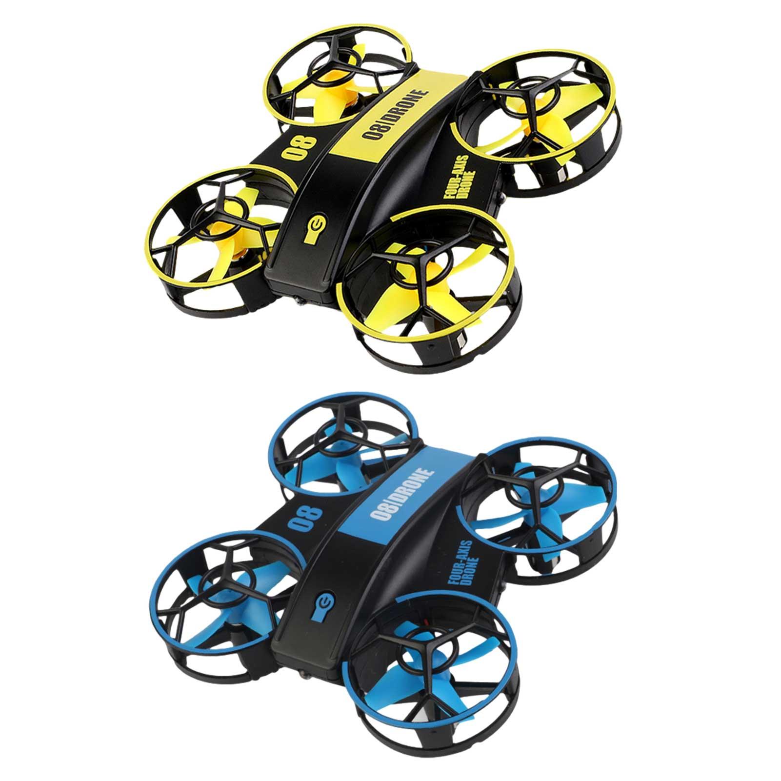 360 Degrees Quadcopter Mini Remote Control Drone Dron Aircraft RC Quadcopter Toys For Children Mini Drone Beginners