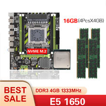 Chipset 1333mhz Kllisre X79 E5-1650 Combo-Kit-Set DDR3 4pcs 4GB--16GB Memory ECC