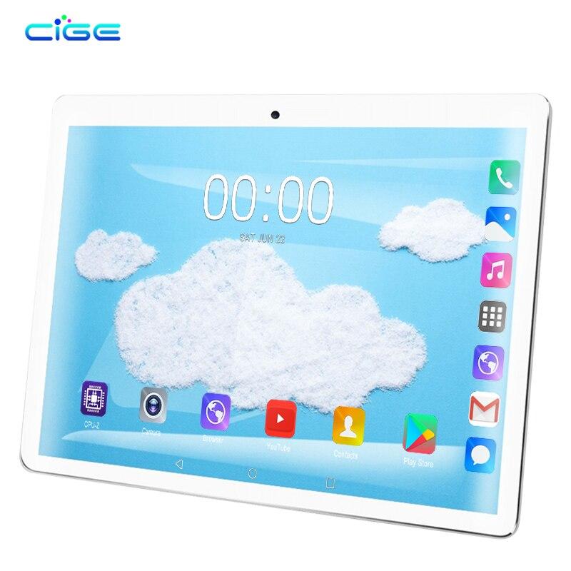 1920X1200 10.1 pouces Android 9.0 tablette pc 10 core 4G Lte téléphone tablettes d'appel 6gb ram 64gb rom double wifi bande 2.4G 5G double sim