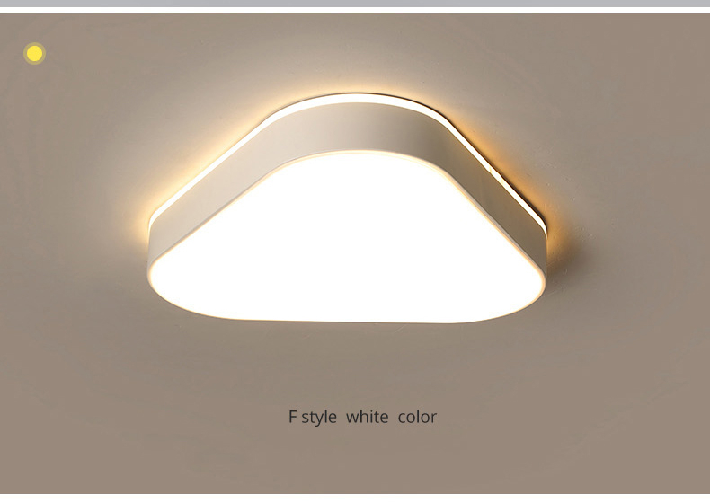 H9c607b35044944288a2e6b17abb5e9bfy Living Room Ceiling Lights | Drop Ceiling Lights | LED Ceiling Light Corridor Art Gallery Decoration Front Balcony Lamp Porch White Black Power 18W