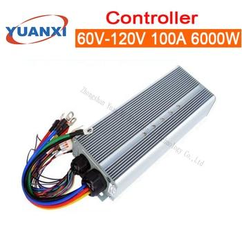 Brushless intelligent two tricycles universal 60V/72V/84V/96V/120V 100A Electric battery car controller