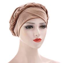 Helisopus новый модный бархатный женский головной платок шапка