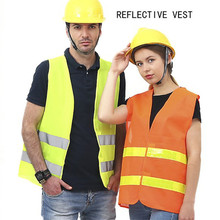 Universal High Visibility Reflective Clothing Unisex Men Women Safety Vest Working Clothes Fit For Running Cycling Dropshipping