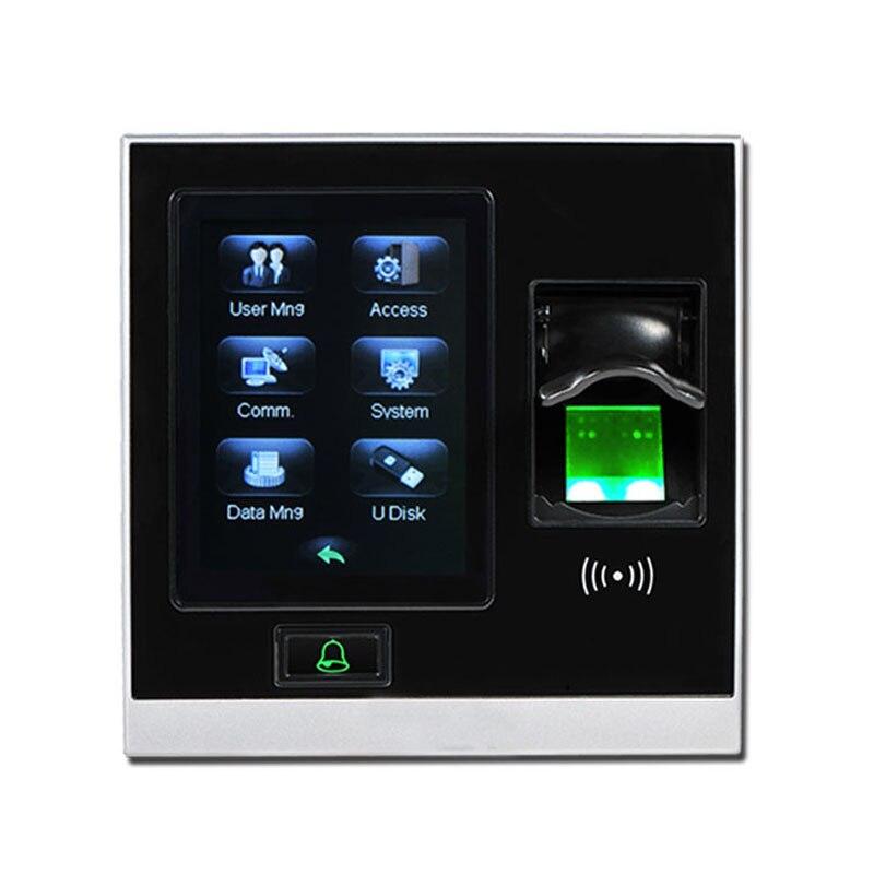 ZK SF400 TCP/IP USB биометрический контроль доступа по отпечаткам пальцев, автономный регистратор времени посещаемости, умная система управления дверью-1