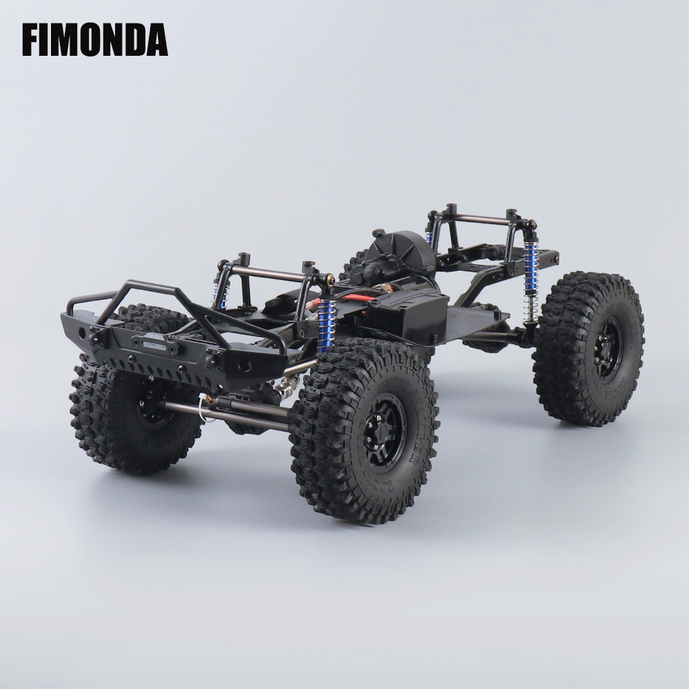 FIMONDA 12.3 inch 313mm Wheelbase Complete Frame Chassis for 1/10 RC Crawler Car SCX10 SCX10 II 90046 90047|Parts & Accessories| |  - AliExpress