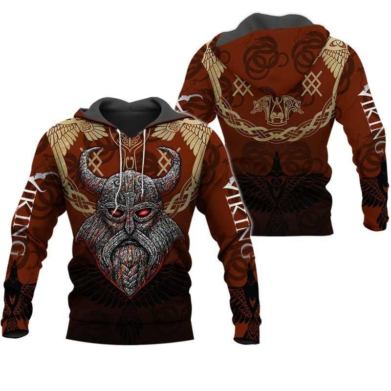 Liumaohua moda viking guerreiro tatuagem 3d impresso camisas casuais 3d impressão hoodies/moletom/zíper homem mulher satã tatuagem 003