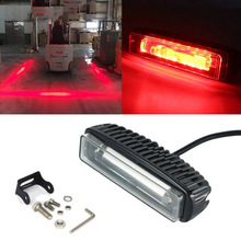 10-30V IP67 30W LED Forklift Truck RED Line Warning Lamp Safety Working Light Marine light  Boat Lights Outdoor Lighting