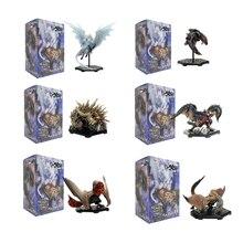 Original Anime Monster Hunter World Iceborne DLC Plus Vol14 PVC Action Figure Dragon Toys Model Boxed Collection Christmas Gift