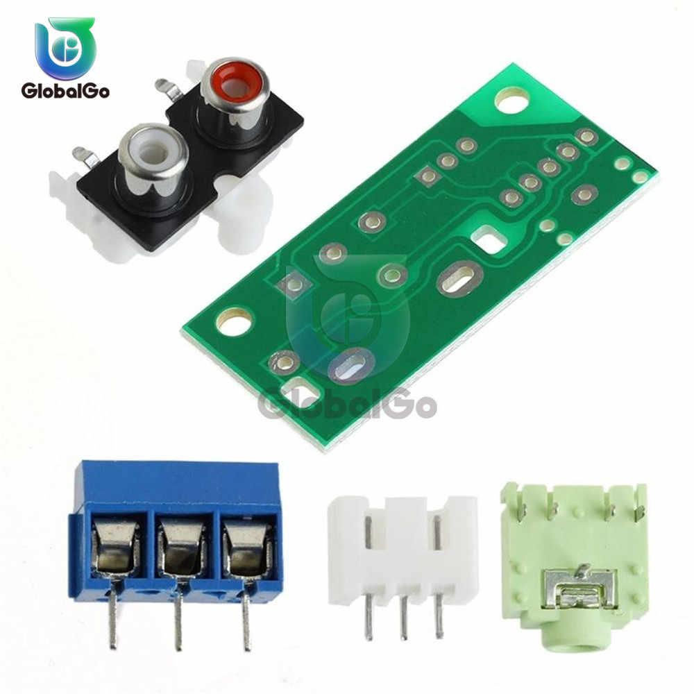 אודיו מתג לוח אודיו קלט מודול לוח 3.5mm אלקטרוני מגבר DIY ערכות