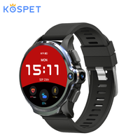 KOSPET Prime 4G Smart Watch Phone 3GB 32GB 1.6 Inch Screen Dual Camera 1260mAh Android Smart Watch Bluetooth GPS Face ID Unclok