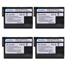 DuraPro EN-EL15 – lot de 4 Batteries numériques EN EL15 ENEL15, pour Nikon D600 D610 D600E D800 D800E D810 D7000 D7100 d750 V1 MH-25