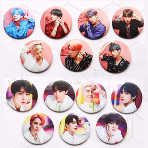 Year-End Clearances Kpop Bangtan Boys Pin Album Brooch Badge Accessories For Clothes Hat Backpack Decoration