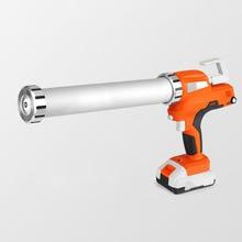 Electric Cordless Caulking Guns Portable Glass Hard Rubber Sealant Gun Handheld Rechargeable Glue Gun With BatteryDIY Tools Kit