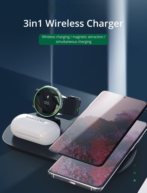 wireless charging pad WC034 Pastel galaxy wireless charger charging pad charging station for iPhone 8 and iPhone X Samsung galaxy