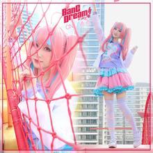 Costume de Cosplay, Anime Bang Dream! Nyubara – robe Reona, tenue de noël et d'halloween, livraison gratuite, CG577