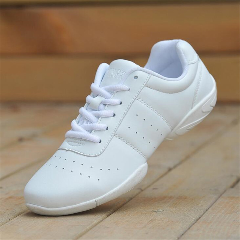 Kids Dance Shoes Sneakers Children's Competitive Aerobics Shoes Soft Bottom Sports Shoes Jazz Girl Professional Training Fitness