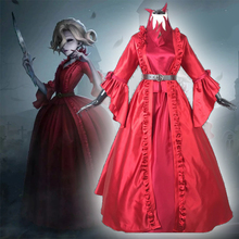 Game Identity V Cosplay costumes Survivor Bloody Queen Mary Cosplay Costume Original Skin Red Long dresses Prom Ball Gown female