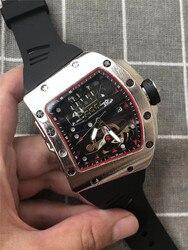 Mężczyzna ze stali big DZ digite S zegarek Rlo dz Auto data tydzień wyświetlacz Luminous Diver zegarki nadgarstek ze stali nierdzewnej mężczyzna mężczyzna zegar
