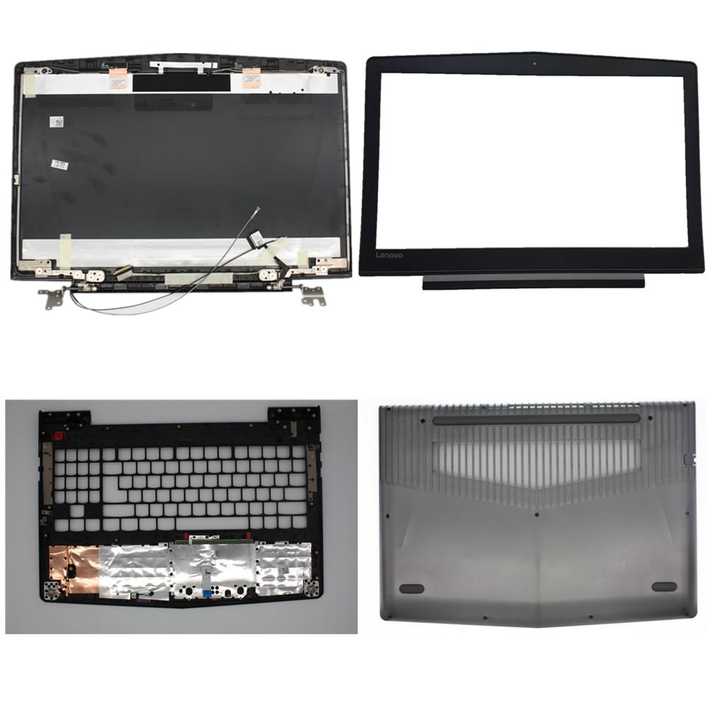 NEW Laptop Case Cover For Lenovo Y520 R520 R720 LCD Back Cover Bezel Palmrest Laptop Bottom Base Case Cover AP13B000