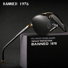 Мужские солнцезащитные очки для вождения, поляризованные темные очки HD с защитой от ультрафиолета UV 2020, в коробке, 400