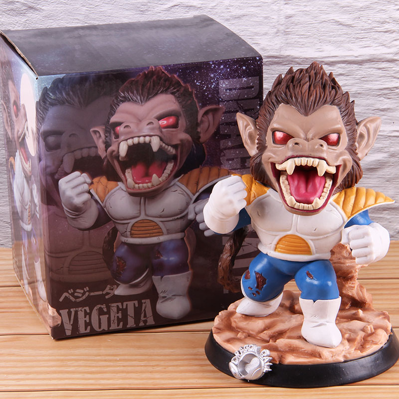 Vegeta Dragon Ball Z PVC Collectible Action Figure Dragonball Model Toy Great Ape Anime GK Statue 18cmAction & Toy Figures   -