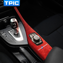 Автомобильная Мультимедийная панель с алькантарой, панель из АБС-пластика, обшивка, M характеристики, внутренняя наклейка для BMW F20 F21 F22 2012-2019...