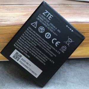 Image 3 - 2020 새로운 원래 고품질 2400mAh Li3824T44P4h716043 배터리 ZTE 블레이드 A520 A521 BA520 A520C A603 BA603 전화 배터리