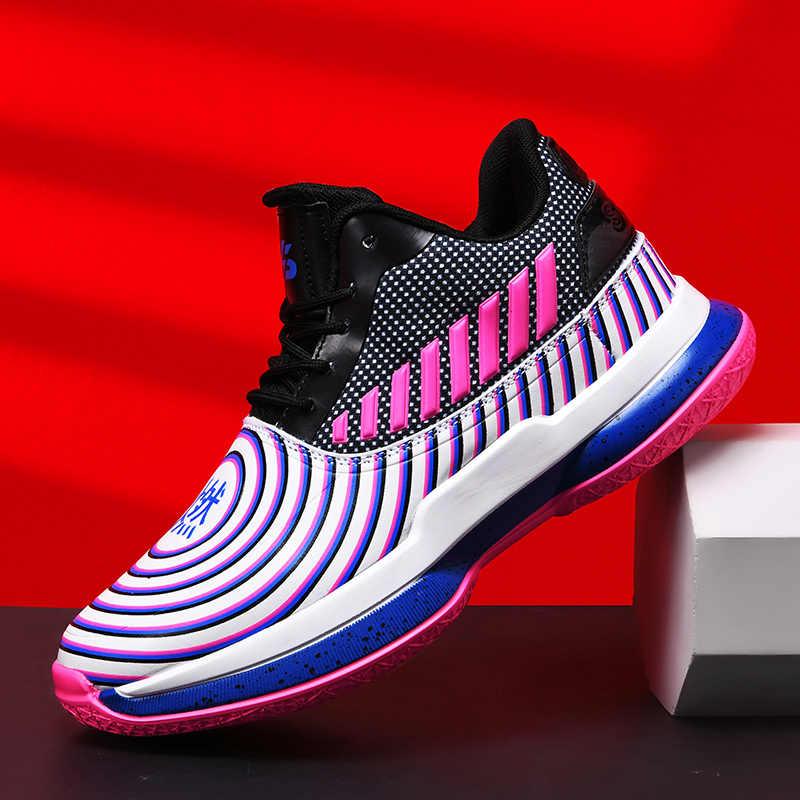 ใหม่Jordanรองเท้าบาสเก็ตบอลDampingผู้ชายกีฬารองเท้าผ้าใบด้านบนBreathable Lightรองเท้ารองเท้าชายกลางแจ้งJordanรองเท้า