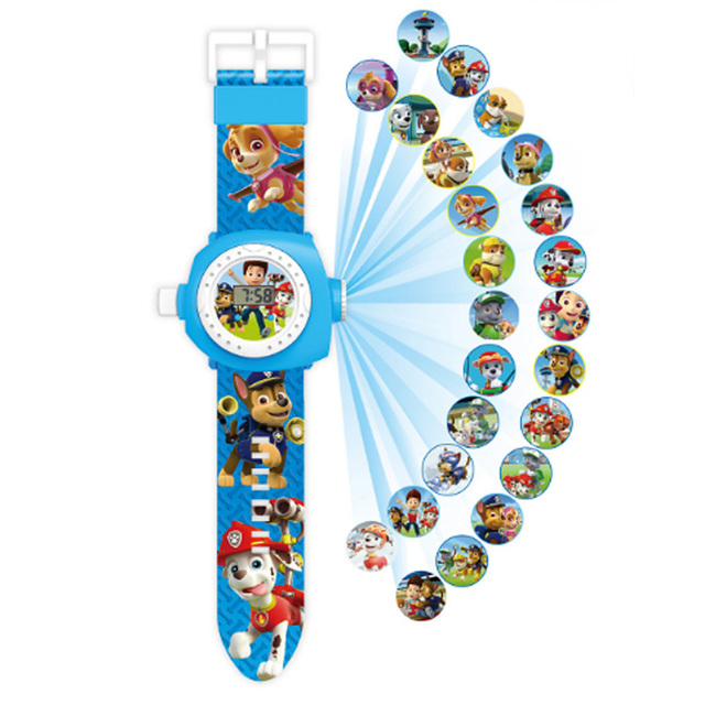 Paw Patrol Electronic Projection Watch Reloj Patrulla Canina Puppy Watch Patrol Children Birthday Partydecorations Gift 1