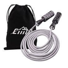 Cuerda de saltar ajustable para rodamiento, Crossfit de velocidad, equipo de gimnasia para niños y adultos, equipo de entrenamiento MMA