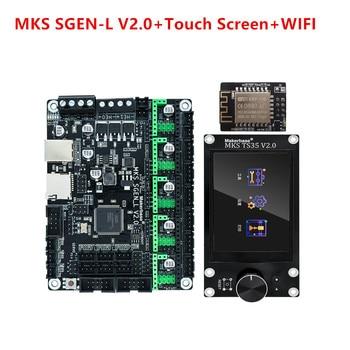 MKS SGEN L V2.0 32-bit control board SGEN_L Smoothieboard MKS TS35 touch screen 3d printer upgrade kits ender 3 cr-10 pa