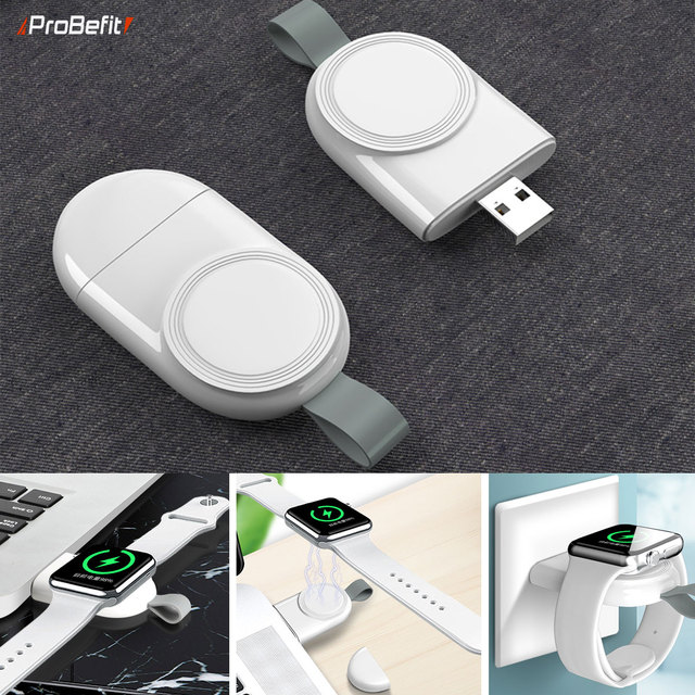 Portable Wireless Charger for IWatch 6 SE 5 4  Charging Dock Station USB Charger Cable for Apple Watch Series 5 4 3 2 1 1